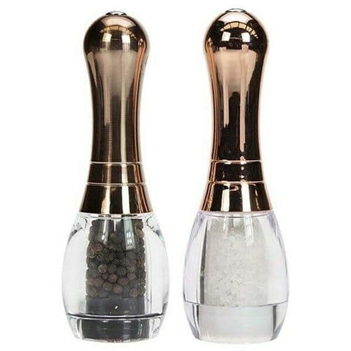 Copper Skittle - Salt and Pepper Mill Set by David Mason Design
